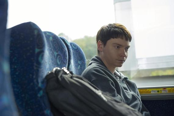 "The Act -- ""Plan B"" - Episode 105 -- Gypsy and Nick scheme to meet in person and hope to win Dee Dee's approval, but when their plan goes disastrously wrong, they'll be pushed to make an extreme choice in order to be together. Nick Godejohn (Calum Worthy), shown. (Photo by: Brownie Harris/Hulu)"