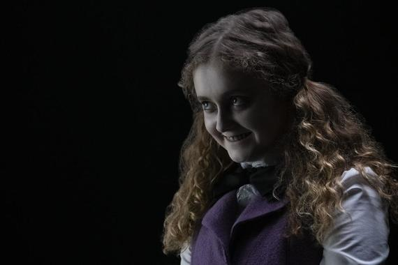 "Into The Dark -- ""Uncanny Annie"" - On Halloween night a group of college students get trapped in a mysterious board game that brings their darkest secrets and fears to life, where they must play to escape...and win to survive. Annie (Karlisha Hurley), shown. (Photo by: Patrick Wymore/Hulu)"