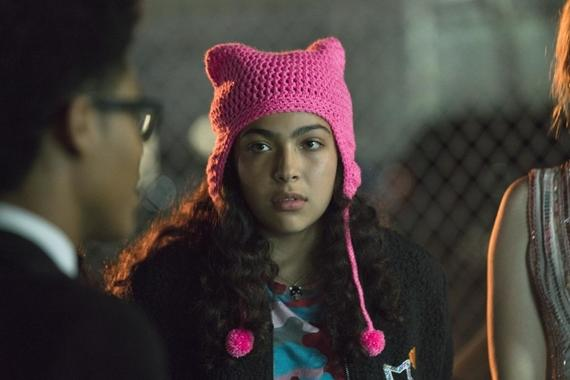 "MARVEL'S RUNAWAYS -- ""Doomsday"" - Episode 109 - The Runaways are feeling more fractured than ever when Molly arrives with a devastating message from her parents. Now the kids have to stop their parents before it's too late. Molly Hernandez (Allegra Acosta), shown. (Photo by: Greg Lewis/Hulu)"