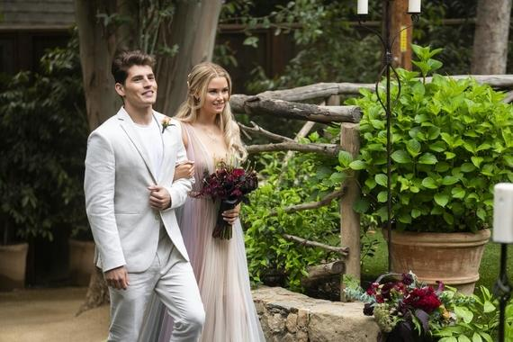 "Runaways -- ""Smoke & Mirrors"" - Episode 301 -- The Runaways spring a trap to rescue their missing friends from Jonah and his family. Chase (Gregg Sulkin) and Karolina (Virginia Gardner), shown. (Photo by: Michael Desmond/Hulu)"