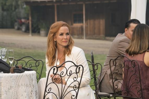 "Runaways -- ""Smoke & Mirrors"" - Episode 301 -- The Runaways spring a trap to rescue their missing friends from Jonah and his family. Leslie (Annie Wersching), shown. (Photo by: Michael Desmond/Hulu)"