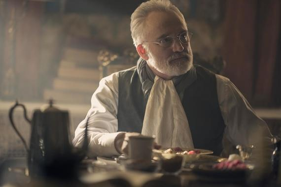 "The Handmaid's Tale -- ""Watch Out"" - Episode 303 -- June navigates a meeting where she must face both Commander Waterford and Nick. Serena Joy attempts to recuperate at her mother's home. Lawrence teaches June a hard lesson about the difficult decisions he makes as a Commander. Joseph (Bradley Whitford), shown. (Photo by: Elly Dassas/Hulu)"