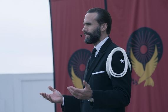 "The Handmaid's Tale -- ""Household"" - Episode 306 -- June accompanies the Waterfords to Washington D.C., where a powerful family offers a glimpse of the future of Gilead. June makes an important connection as she attempts to protect Nichole. Fred (Joseph Fiennes), shown. (Photo by: Barbara Nitke/Hulu)"