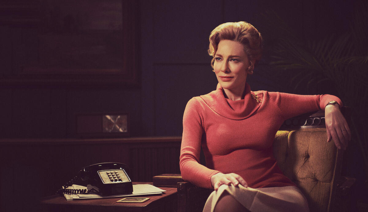 MRS. AMERICA -- Pictured: Cate Blanchett as Phyllis Schlafly. CR: Pari Dukovic/FX