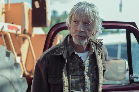 """Castle Rock -- """"Filter"""" - Episode 106 - Henry's son visits from Boston; a funeral stirs up unsettling memories. Shown: Alan Pangborn (Scott Glenn) (Photo by: Patrick Harbron/Hulu)"""