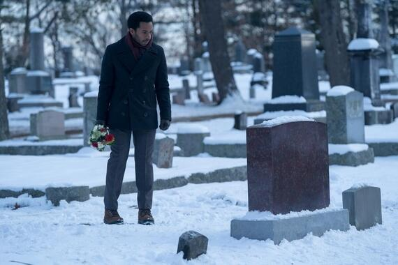 """Castle Rock -- """"Romans"""" - Episode 110 - Some birds can be caged. Shown: Henry Deaver (Andre Holland) (Photo by: Dana Starbard/Hulu)"""