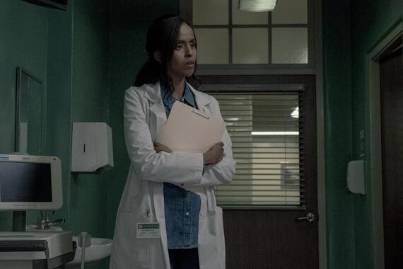 "CASTLE ROCK -- ""Restore Hope"" - Episode 204 -- Nadia (Yusra Warsama), shown. (Photo by: Dana Starbard/Hulu)"