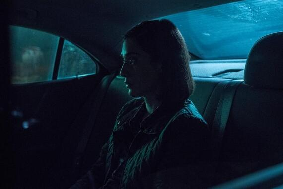 """CASTLE ROCK -- """"The Laughing Place"""" - Episode 205 -- In the beginning.... Annie (Lizzy Caplan), shown. (Photo by: Dana Starbard/Hulu)"""