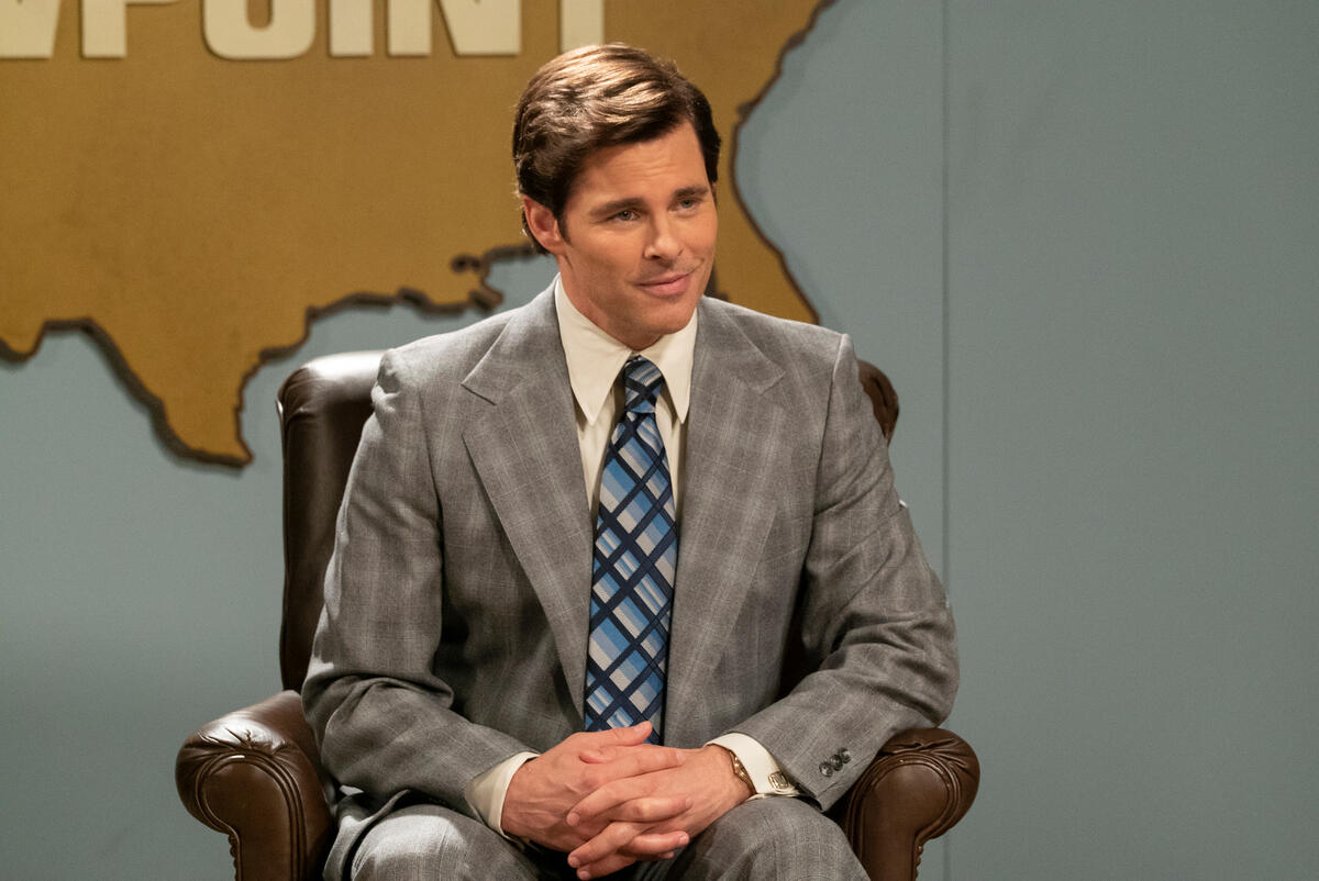 MRS. AMERICA -- Pictured: James Marsden as Phil Crane. CR: Michael Gibson/FX