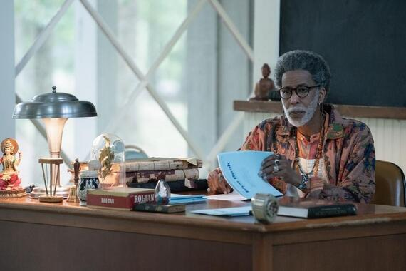 "Looking For Alaska -- ""It's Very Beautiful Over There"" - Episode 108 -- The search for answers pulls our group apart, until one final prank brings them back together. Dr. Hyde (Ron Cephas Jones), shown. (Photo by: Alfonso Bresciani/Hulu)"