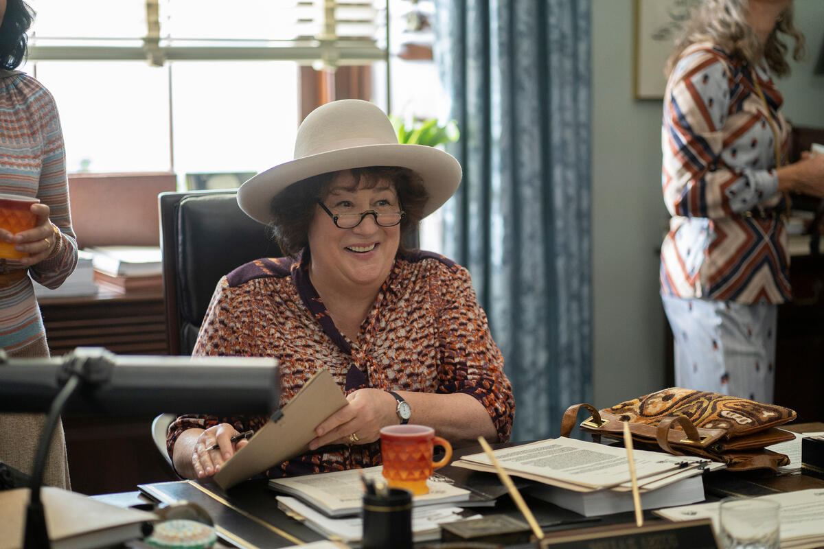 MRS. AMERICA -- Pictured: Margo Martindale as Bella Abzug. CR: Sabrina Lantos/FX