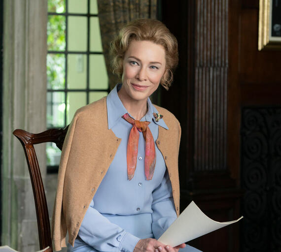 "ttMRS. AMERICA -- ""Gloria"" --Episode 2 (Airs April 15) Pictured (l-r): Cate Blanchett as Phyllis Schlafly. CR: Sabrina Lantos/FX"