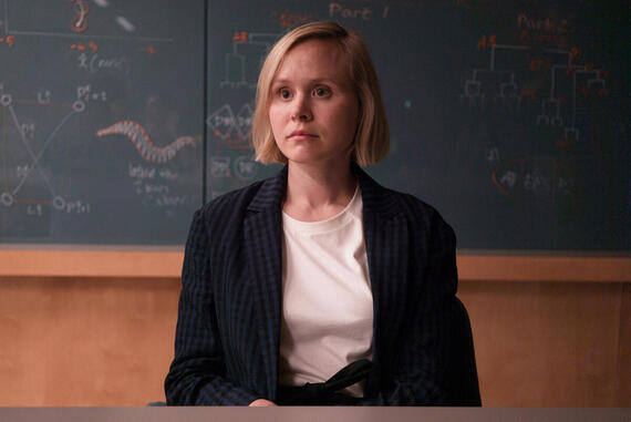 "DEVS ""Episode 1"" (Airs Thursday, March 8, time: TBA) -- Pictured: Alison Pill as Katie. CR: Miya Mizuno/FX"