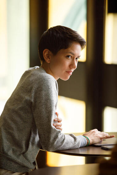"DEVS ""Episode 5"" (Airs Thursday, March 26) -- Pictured: Sonoya Mizuno as Lily. CR: Raymond Liu/FX"