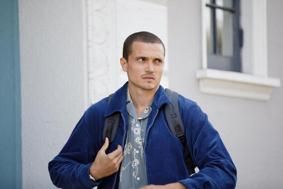 "DEVS ""Episode 8"" (Airs Thursday, April 16) -- Lily arrives for her final confrontation with Forest and Katie. Pictured: Karl Glusman as Sergei. (Photo by: Raymond Liu/FX)"