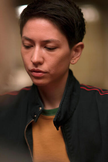 "DEVS ""Episode 6"" (Airs Thursday, April 2) -- Pictured: Sonoya Mizuno as Lily. CR: Miya Mizuno/FX"