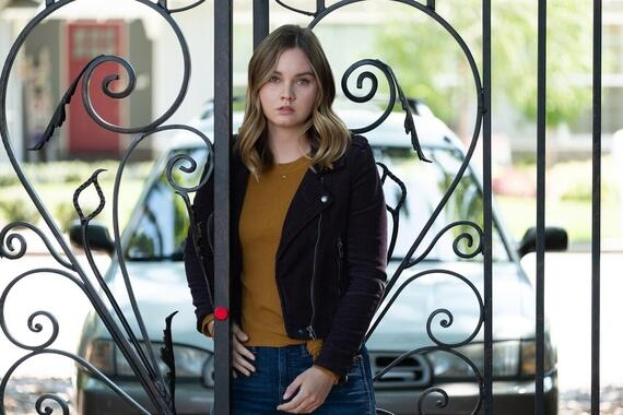 "Light as a Feather -- ""...Sly as a Fox"" - Episode 203 -- McKenna figures out a way to track her sleepwalking. Trey reconnects with an old friend. McKenna (Liana Liberato), shown. (Photo by: Alex Lombardi/Hulu)"