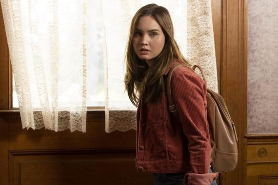 "Light as a Feather -- ""...Dark as Night"" - Episode 104 - McKenna investigates Violet, she finds herself haunted by nightmares of her past. McKenna (Liana Liberato), shown. (Photo by: Rachael Thompson/Hulu)"