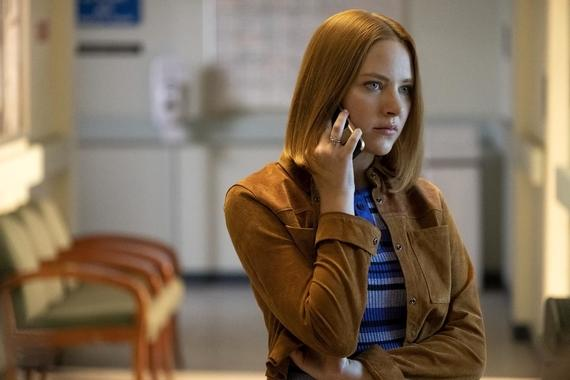"Light as a Feather -- ""...Cold as Ice"" - Episode 108 - Determined to get answers, McKenna devises a new plan. Violet (Haley Ramm), shown. (Photo by: Alex Lombardi/Hulu)"
