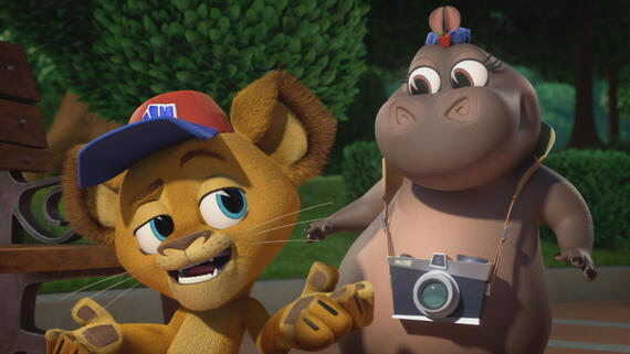 """Madagascar: A Little Wild -- """"The Bear Necessities"""" -- Episode 101When their favorite zoo visitor loses his teddy bear, our gang goes on a wild adventure through New York City to return it to him Ð and in the process Marty learns that some things in life canÕt be found in an instruction manual. (Photo courtesy of DreamWorks)"""