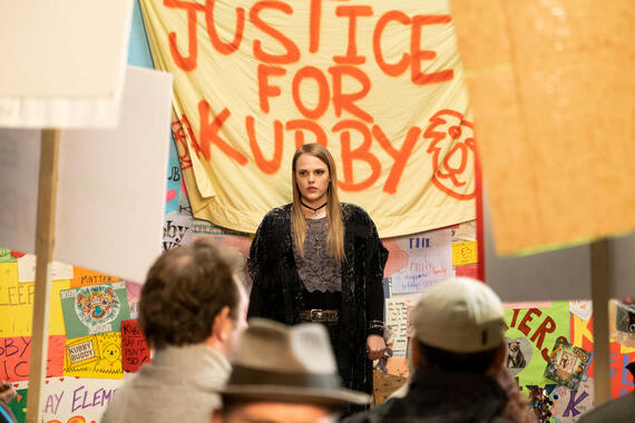 "Woke -- ""Prayers for Kubby"" - Episode 107 -- What should be a quick trip across town instead turns into the bus ride from Hell. , shown. (Photo by: Liane Hentscher/Hulu)"