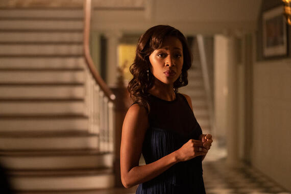 "Monsterland -- ""New Orleans, LA"" - Episode 103 -- A New Orleans socialite wrestles with her past. Annie (Nicole Beharie), shown. (Photo by: Barbara Nitke/Hulu)"