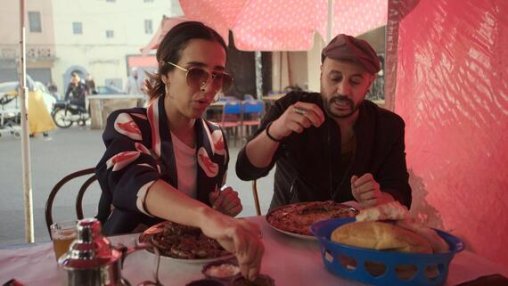 "Eater's Guide To The World -- ""Cultural Crossroads in Casablanca"" -- Episode 102 -- No cool friend would let you skip Casablanca while on a trip to Morocco. This can't-miss port city boasts snails, traditional pastilla, and unreal tagine — you've gotta taste it all. (Photo by: Courtesy of Hulu)"