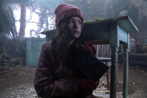 "Monsterland -- ""Iron River, MI"" -- Episode 107 -- A neglected daughter longs for another life. Elena Milak (Sarah Catherine Hook), shown. (Photo by: Barbara Nitke/Hulu)"