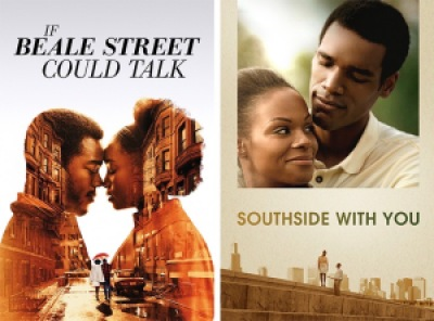 title images for If Beale Street Could Talk and Southside With You