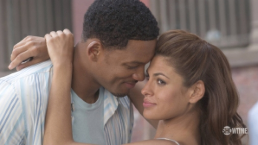 Will Smith and Eva Mendes in the movie Hitch