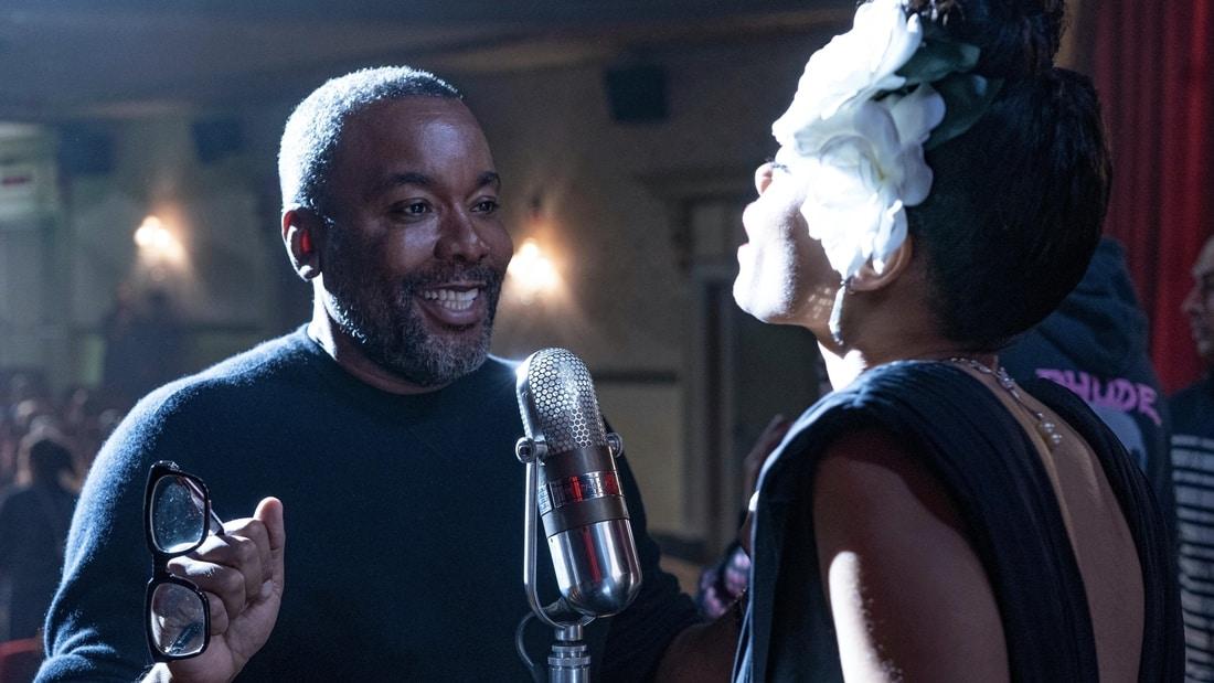 Director Lee Daniels on The United States vs. Billie Holiday film set