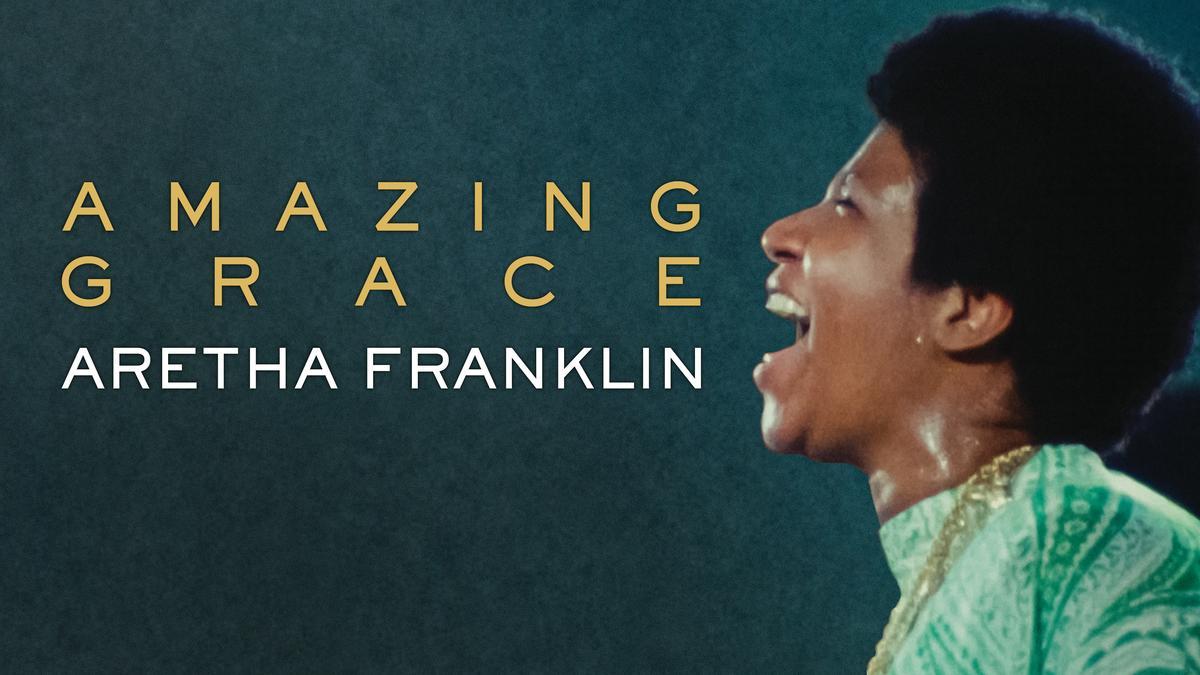 Aretha Franklin singing Amazing Grace