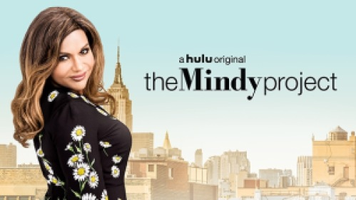 Title art for The Mindy Project featuring Mindy Kaling