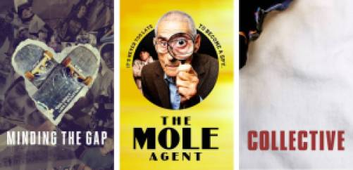 Mind The Gap, The Mole Agent, and Collective documentaries on Hulu