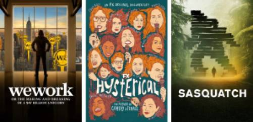 WeWork, Hysterical, and Sasquatch documentary