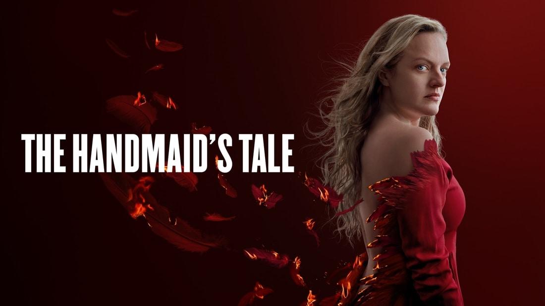 Elisabeth Moss starring in Hulu's The Handmaid's Tale Season 4
