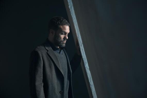 "The Handmaid's Tale -- ""The Crossing"" - Episode 403 -- Captured by Gilead, June faces a vengeful Aunt Lydia and endures a torturous interrogation. Nick and Lawrence collaborate to protect June. In Toronto, Luke struggles with how to help June and Hannah. Luke (O-T Fagbenle), shown. (Photo by: Jasper Savage/Hulu)"