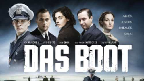 Title art for the series Das Boot on Hulu.