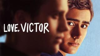 Title Art for the Hulu Original Show Love, Victor