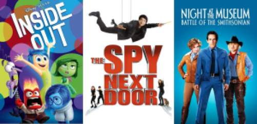 Title art for Best family movies on Hulu.