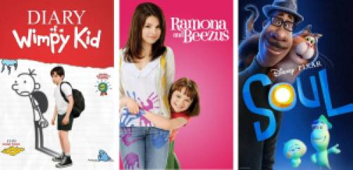 Title art for the Best Kids Movies on Hulu