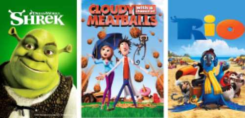 Title art for Comedy movies for kids on Hulu