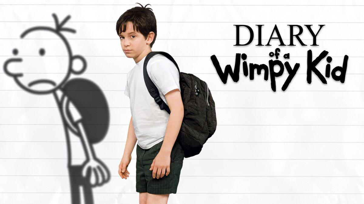 Greg Heffley (Zachary Gordon) starring in Diary of a Wimpy Kid.