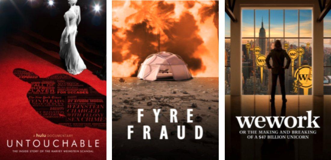 Hulu Original Documentaries: Untouchable, Fyre Fraud, WeWork: The Making or Breaking of a $47 Billion Unicorn