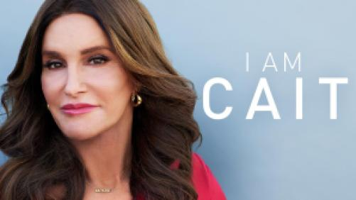 Title art for I Am Cait, featuring Caitlyn Jenner.
