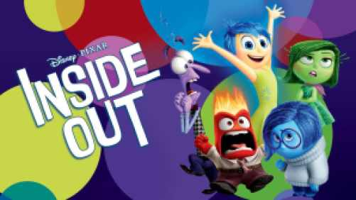 Animated characters from Disney-Pixar's movie Inside Out