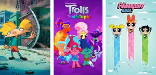 Title art for Kids TV shows on Hulu