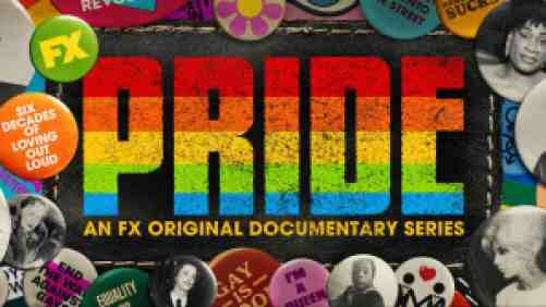 Title art for the FX documentary Pride.