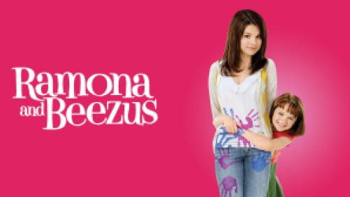 Title art for Ramona and Beezus featuring Selena Gomez and Joey King.