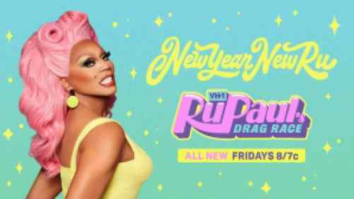Title art for RuPaul's Drag Race, New Year New Ru